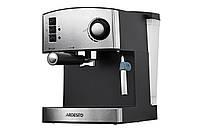 Кофеварка Ardesto YCM-E1600 - эспрессо рожковая/ 1.6 л/ итал. помпа 15 бар/ для 2 чашек/ панарелло