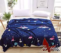Плед на кровать велсофт VL-029