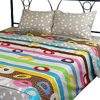 Комплект постельного белья из микрофибы Руно Краски Остра Семейный комплект