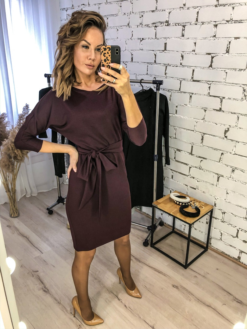 Платье женское повседневное, офисное, удобное, модное, стильное, деловое, нарядное, до 48 р-ра