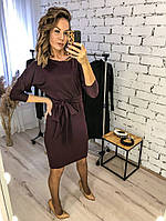Платье женское повседневное, офисное, удобное, модное, стильное, деловое, нарядное, до 48 р-ра, фото 1