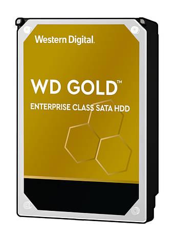"""Жесткий диск WD 3.5"""" SATA 3.0 6TB 7200 256MB Gold, фото 2"""