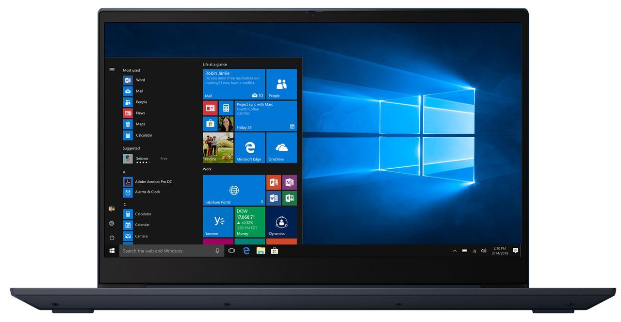 Ноутбук Lenovo IdeaPad S340 15.6FHD/Intel Pen 5405U/8/1000/int/DOS/Abyss Blue