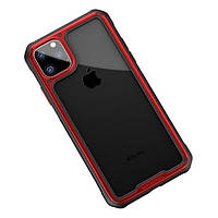 Накладка для iPhone 11 Pro Max iPaky Mufull Series TPU+PC Case Red