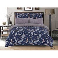 Двуспальное постельное белье Сатин Люкс (100% хлопок) - PC 112