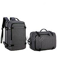Сумка-рюкзак Meinaili трансформер черный 501907B
