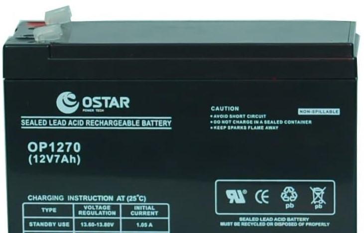 Акумулятор Ostar OP1272