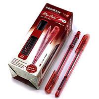 Ручка масляная MY PEN красная (25шт) Pensan