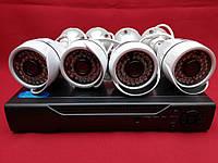 Система наблюдения на 4 камеры AHD KIT 1080P