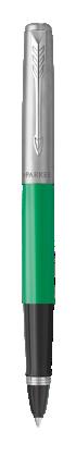 Ручка роллер Parker Jotter 17 Plastic Green Ct Rb