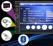 Автомагнитола 2DIN 7018 + GPS, фото 3