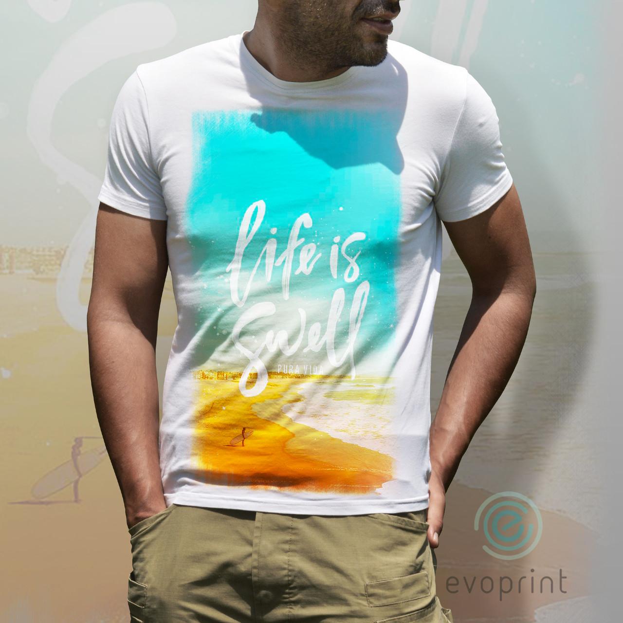 Нанесение принтов на футболки