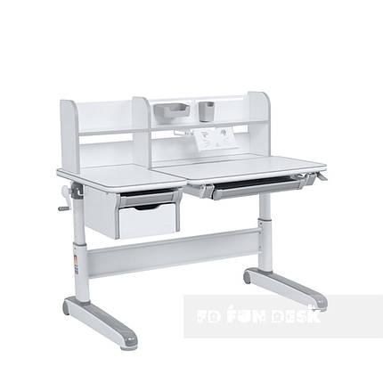 Детский стол-трансформер FunDesk Libro Grey, фото 2