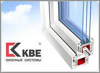Окна металлопластиковые КВЕ 58мм Классик