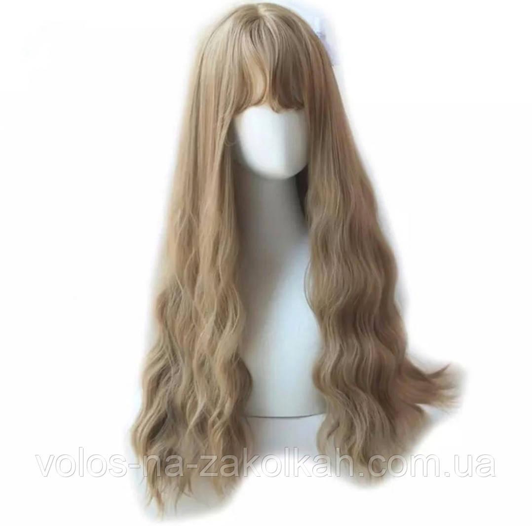 Парик  блонд натуральный цвет 1088