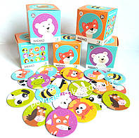 "Картки для малюків ""Знайди пару"" (24 шт),картон,знайди пару,Dodo memo 300145,dodo 30145"