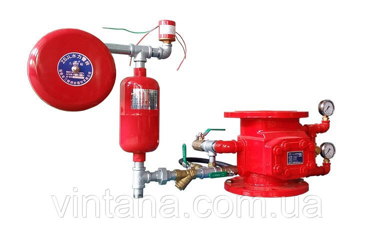 Узел управления спринклерный водовоздушный DN80