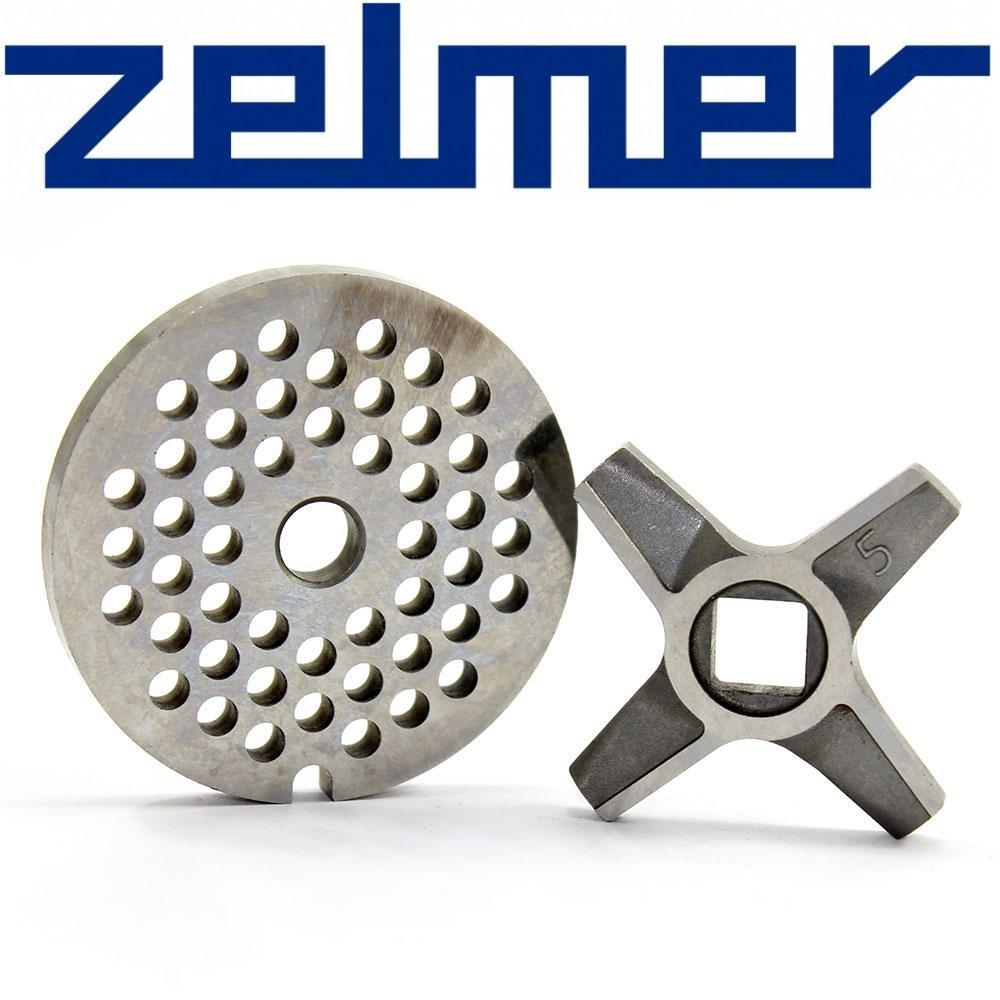 Нож и решетка средняя для электромясорубки Zelmer NR5