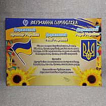 Державні символи України. Плакат