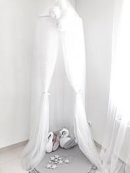 Балдахин-шатер Twins white