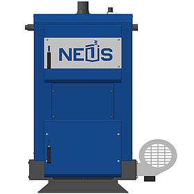 Твердотопливный котел длительного горения НЕУС-Эконом мощностью 12 кВт