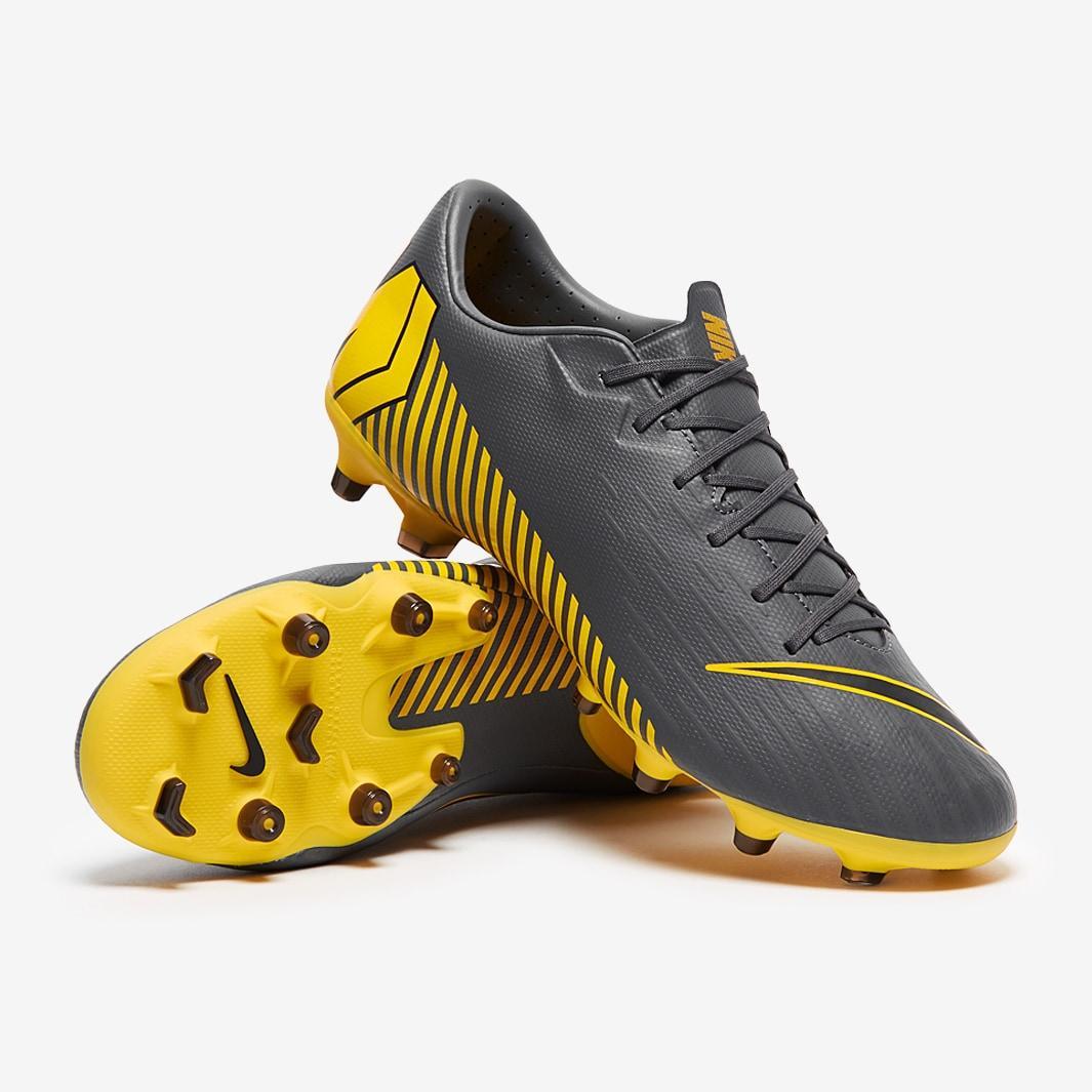 Футбольні бутси Nike Vapor 12 Academy FG/MG AH7375-070 сірі (Оригінал)