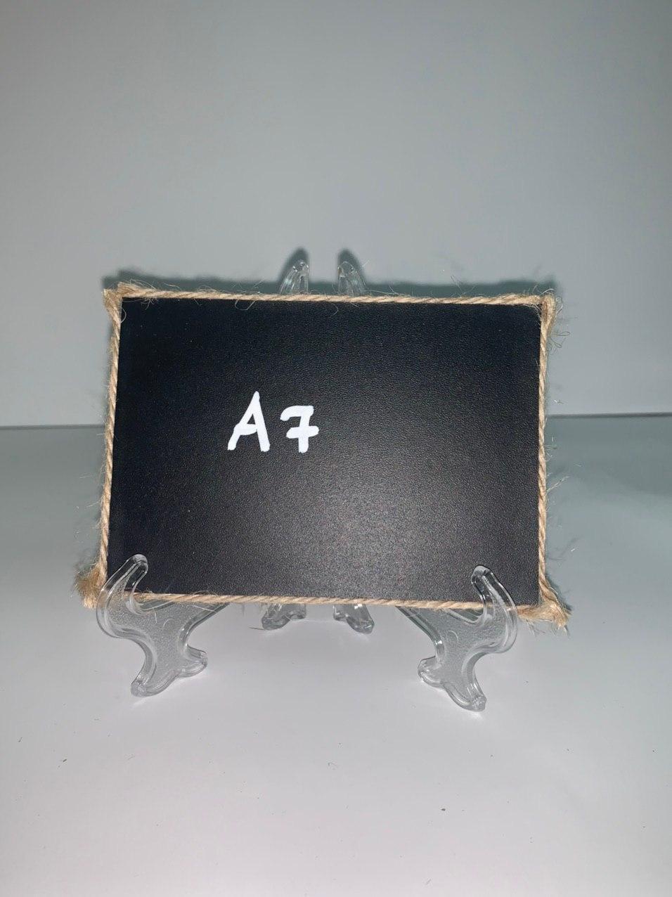 Доска грифельная А5 настольная