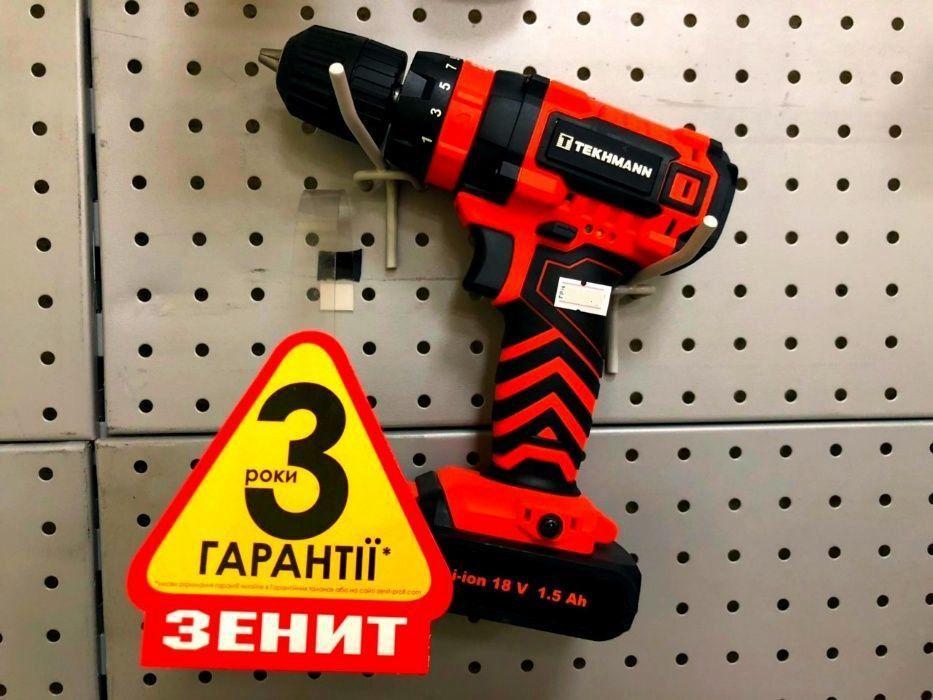 Шуруповёрт tekhmann tcd-18 li