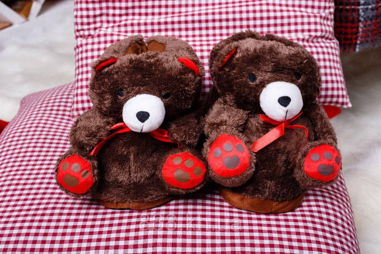 Плюшевые Тапочки-игрушки , тапки домашние.