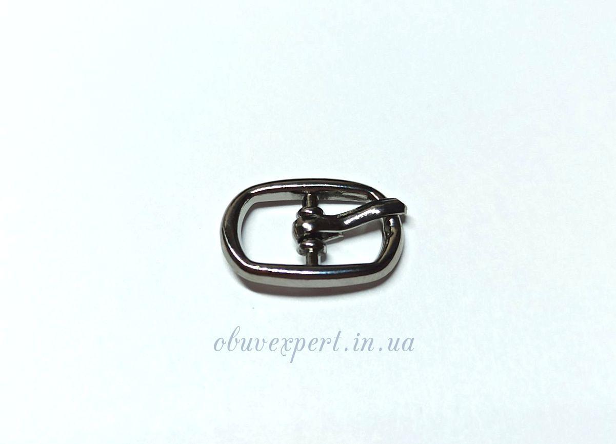 Пряжка 8 мм Чорний нікель