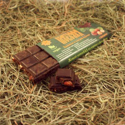Шоколад из кєроба с фундуком