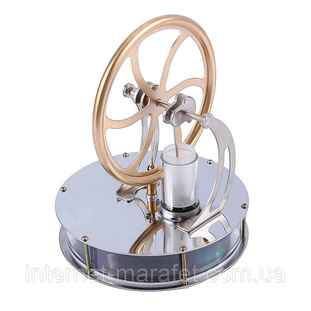 Низкотемпературный двигатель стирлинга Mini Hot Air Stirling Engine