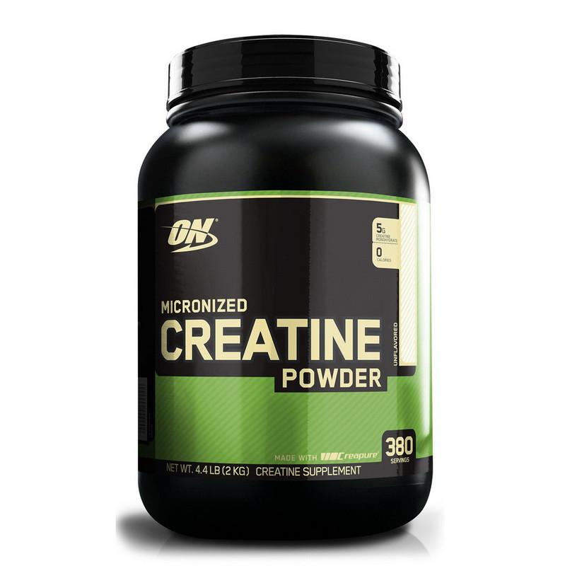 Креатин моногидрат Creatine (2 kg, unflavored) powder Optimum Nutrition