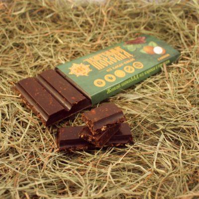 Шоколад из кэроба с кокосом