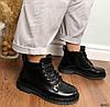 Ботинки женские черные зимние эко кожа 11\3640, фото 5
