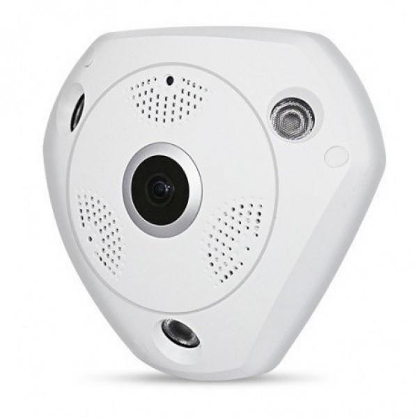 IP Панорамная камера видео наблюдения 360 с встроенным WiFi