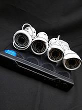 AHD KIT ( FullHD комплект на 4 камеры для видеонаблюдения)
