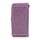 Женский Кошелек Портмоне Baellerry (N1813) на Молнии для Карточек с Ремешком Фиолетовый, фото 5