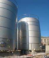 Металлические резервуары для хранения спирта