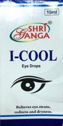 Глазные капли натуральные Айкул, I-cool