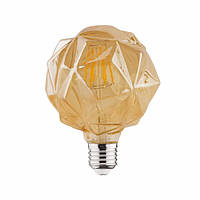 "Лампа ""RUSTIC CRYSTAL-4"" 4W Filament led 2200К E27"