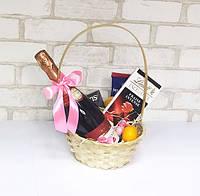 Подарочный набор Корзина Клубничное настроение, фото 1