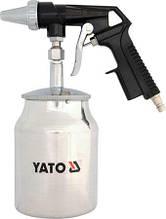 Пистолет пескоструйный с баком YATO YT-2376 (Польша)
