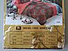 Сатиновое постельное белье семейное ELWAY 4206 «Абстракция», фото 3