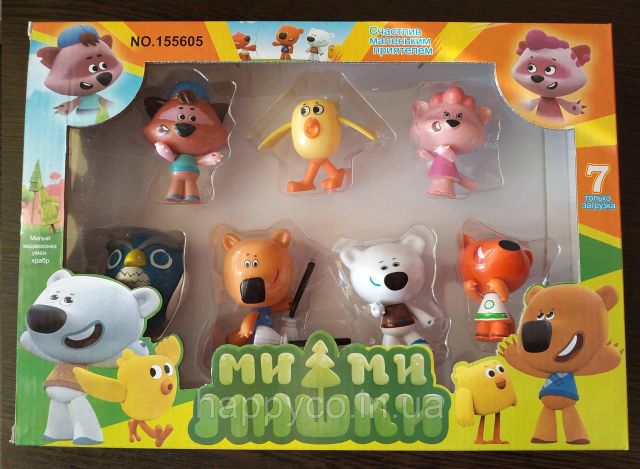 Игровой набор Мишки Мимимишки , 7 фигурок, детская игрушка