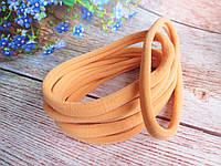 Повязка бесшовная эластичная One size (премиум), цвет ПЕРСИКОВЫЙ