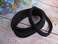 Повязка бесшовная эластичная One size (премиум), цвет ЧЕРНЫЙ