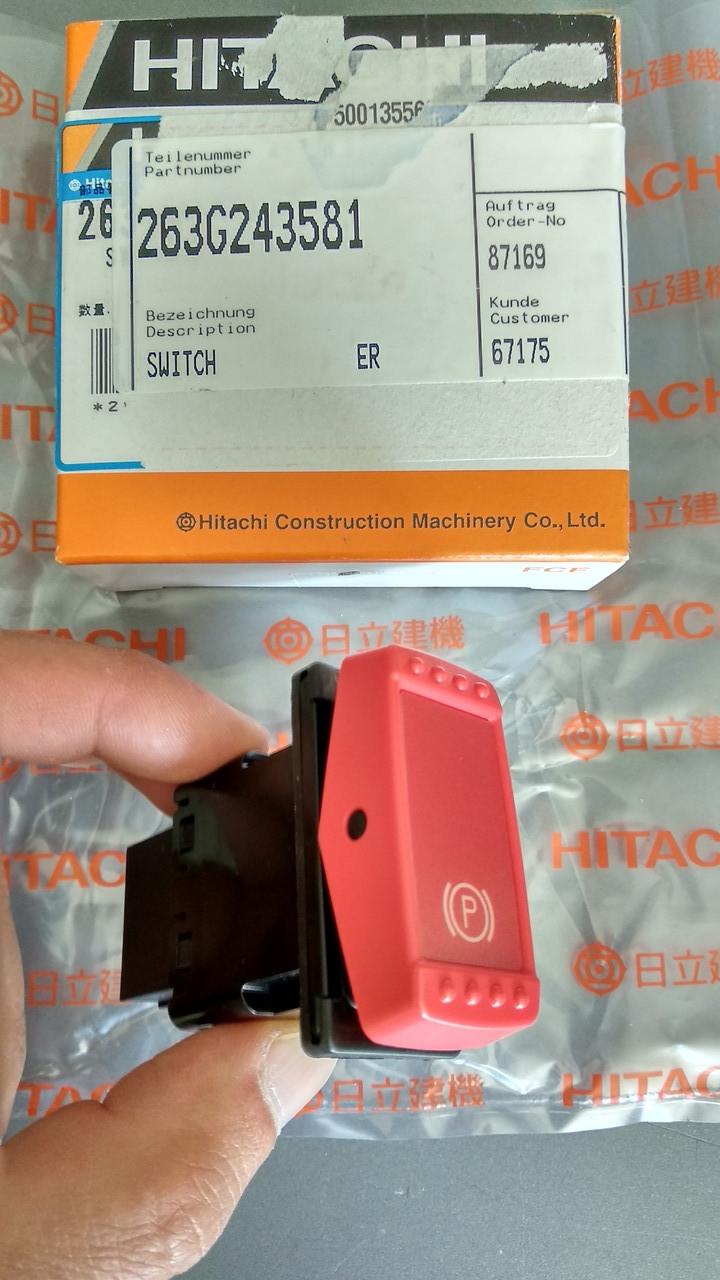 263G243581 Переключатель (SWITCH) Hitachi