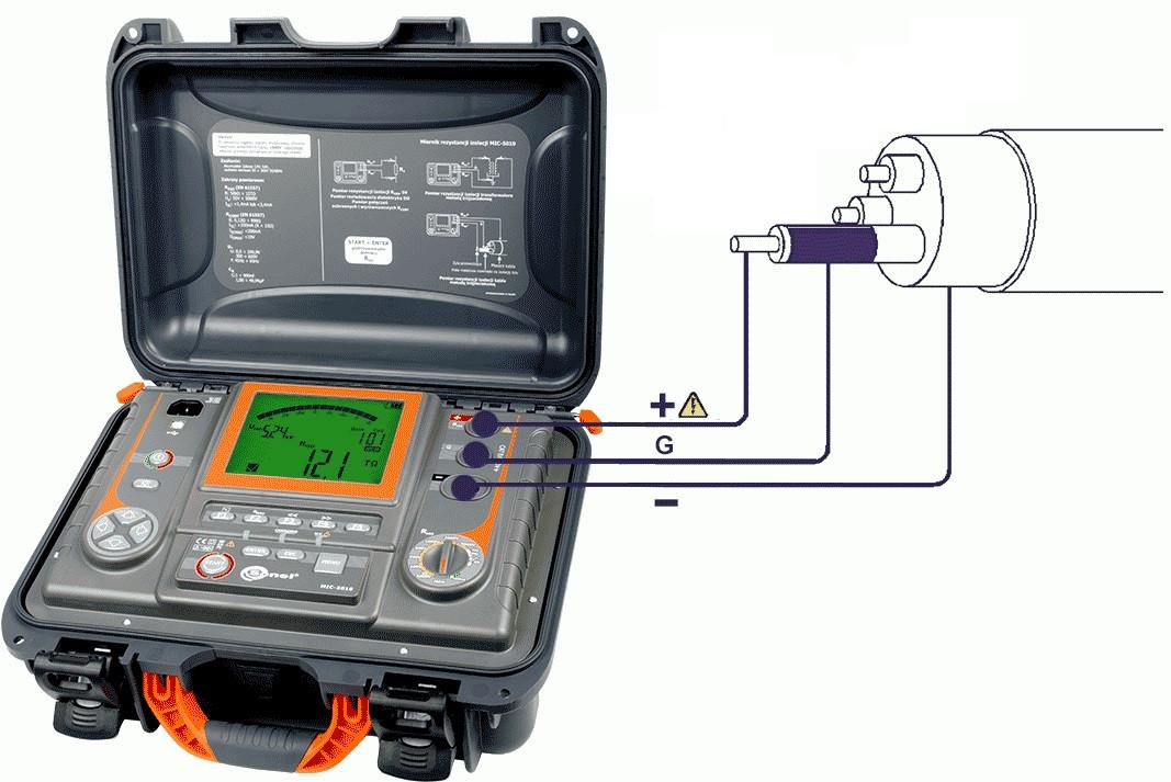 Вимірювання опору ізоляції електроустановок та електропроводок напругою до 1000 В