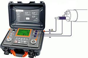 Измерение сопротивления изоляции электроустановок и электропроводок напряжением до 1000 В